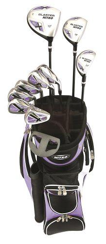 Nitro Golf- Lades Blaster 15 Piece Complete Set With Bag