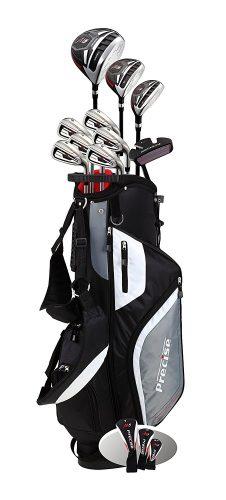 Precise M5 Men's Complete Golf Clubs Package Set Includes Titanium Driver