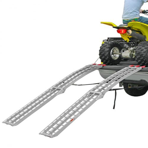Black Widow AFL-9012-2 Ramp (Folding Duel ATV Runner), 2 Pack - ATV ramps
