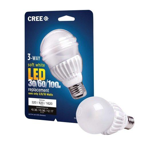3-Way LED Light Bulbs -Cree