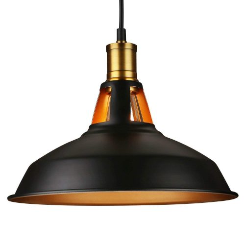 Industrial Metal Black Pendant Light - Pool Table Lights