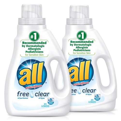 All Liquid Laundry Detergent [Free Clear for Sensitive Skin]