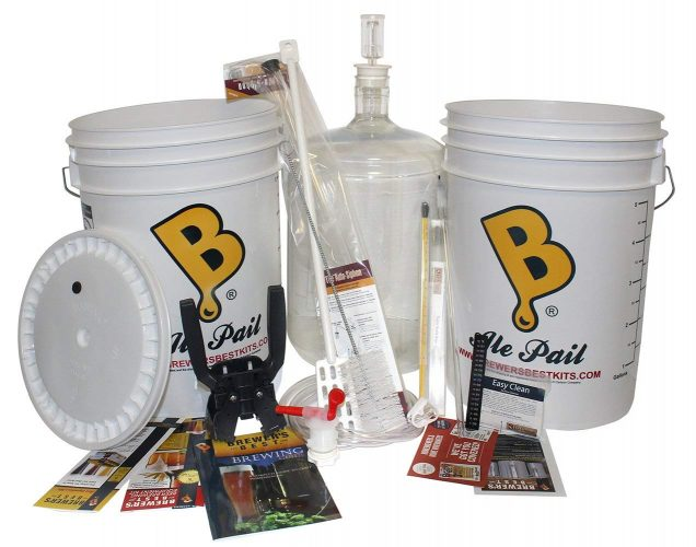 Brewer's Best COMINHKPR32026 Deluxe Beer Brewing Equipment Kit with Better Bottle Carboy