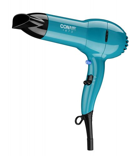 Conair 1875 Watt Full Size Pro Hair Dryer with Ionic Conditioning; Teal - Amazon Exclusive