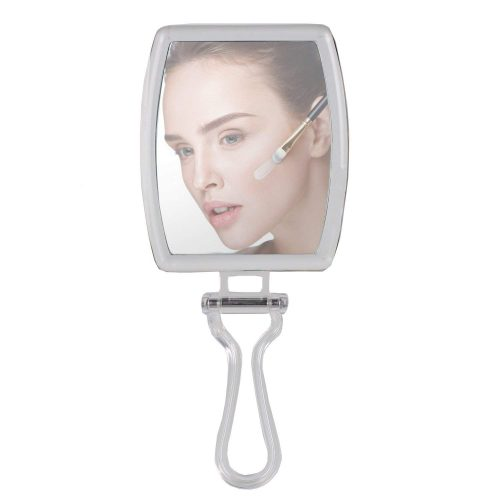 Folding Handheld Makeup Mirror 10X Magnification - Double Sided- Magpower - Hand Mirrors