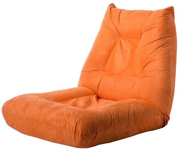 Merax Adjustable 5-Position Floor Chair Folding Lazy Sofa Floor Sofa Chair Cushion