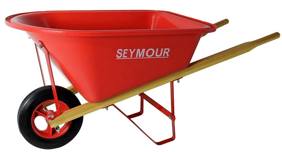 Poly Tray Wheelbarrow- Seymour