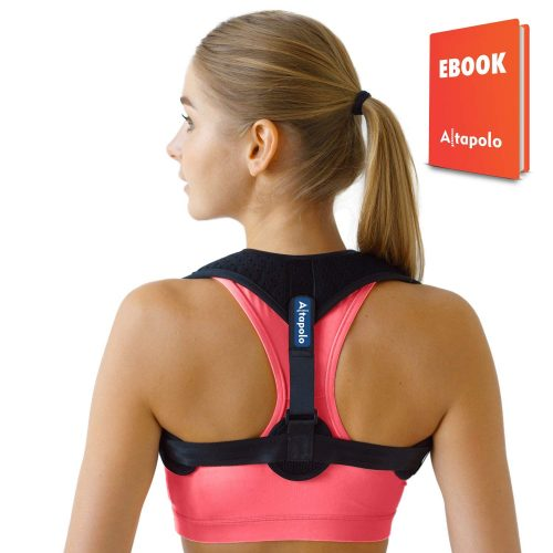Posture Corrector for Men & Women – Adjustable Correcting Shoulder Support for Men & Women – Figure 8 Clavicle Posture Brace for Shoulder Alignment – Invisible Thoracic Brace for Hunching & Slouching - Posture Braces For Men And Women