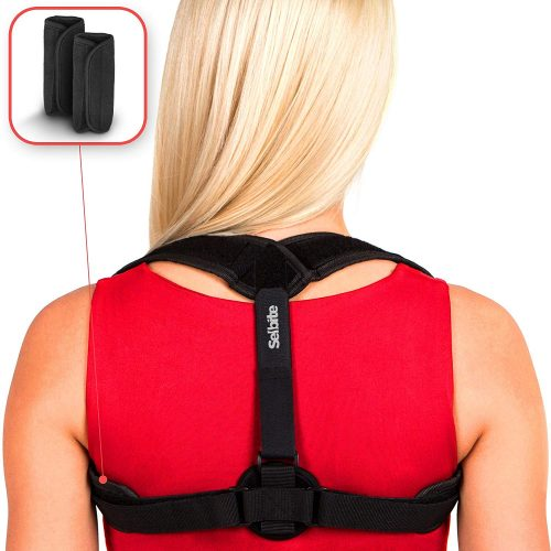 Selbite Back Posture Corrector for Women Men - Posture Brace - Back Brace - Effective and Comfortable Clavicle Correct Brace  - Posture Braces For Men And Women