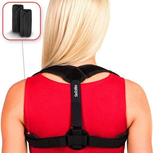 Selbite Back Posture Corrector for Women Men - Posture Brace - Back Brace - Effective and Comfortable Clavicle Correct Brace - Posture Braces For Men And Women
