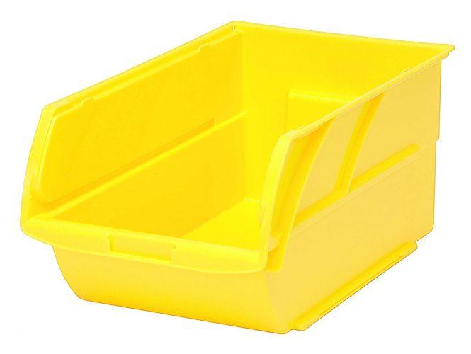 Stanley 056400L Number-4 Nestable/Stackable Storage Bin - Plastic Storage Bins