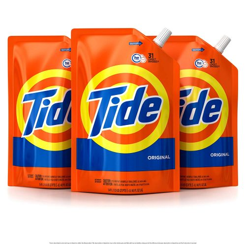 Tide Liquid Laundry Detergents Smart Pouch