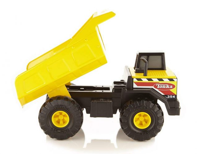 Tonka Classic Steel Mighty Dump Truck Vehicle - toy trucks