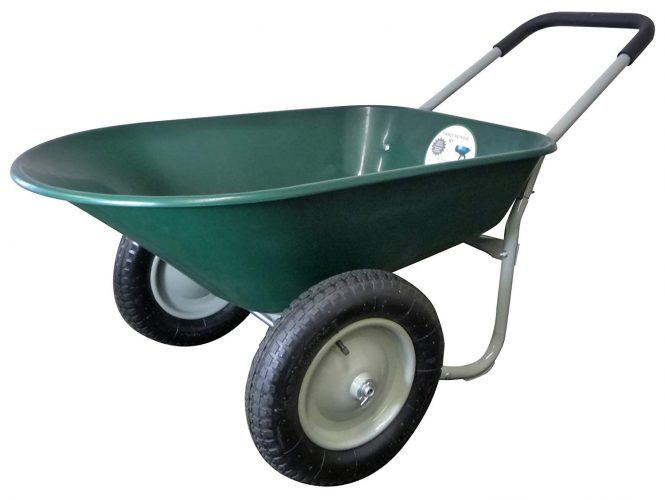 Yard Rover Wheelbarrow- Marathon Dual