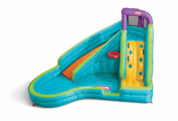 Little Tikes Slam 'n Curve Slide - Inflatable Pool Slides