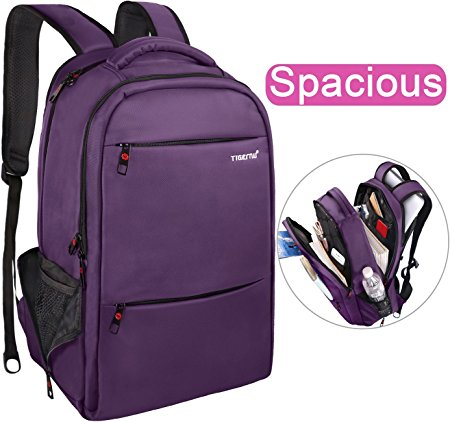 LAPACKER 15.6-17.3 inch Water Resistant Business Computer Backpacks for Women Mens Laptop Travel Bag Lightweight College students Notebook Laptop Backpack - Purple (Except Gaming laptop)