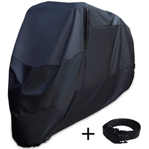 XYZCTEM Motorcycle Cover -Waterproof Outdoor Storage Bag, Made of Heavy Duty Oxford Material Fits up to 116 inch Harley Davison and All motors