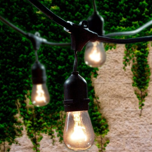Lemontec Commercial Grade Outdoor String Lights