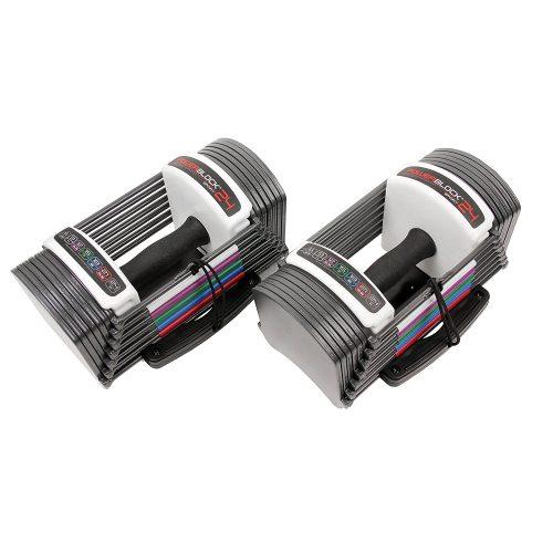 Power Block GF-SPDBLK24 Adjustable SpeedBlock Dumbbells