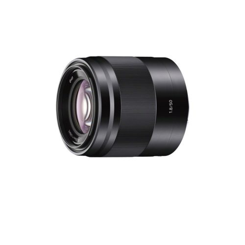 Sony SEL50F18 50mm f/1.8 Lens for Sony E Mount NEX Cameras (Black) – Fixed