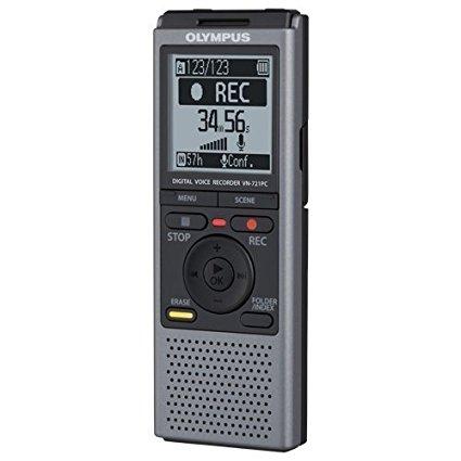 Olympus VN721PC 2GB Digital Voice Recorder - Portable Digital Voice Recorders