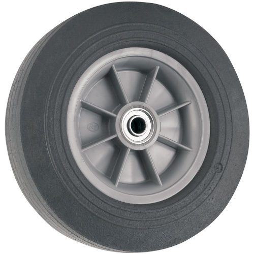 Flat Proof Replacement Wheel - 10-Inch - 300 lb. Load Capacity - For use on Wheelbarrows, Wagons, Carts, & Many Other Products - Wheelbarrow Wheels