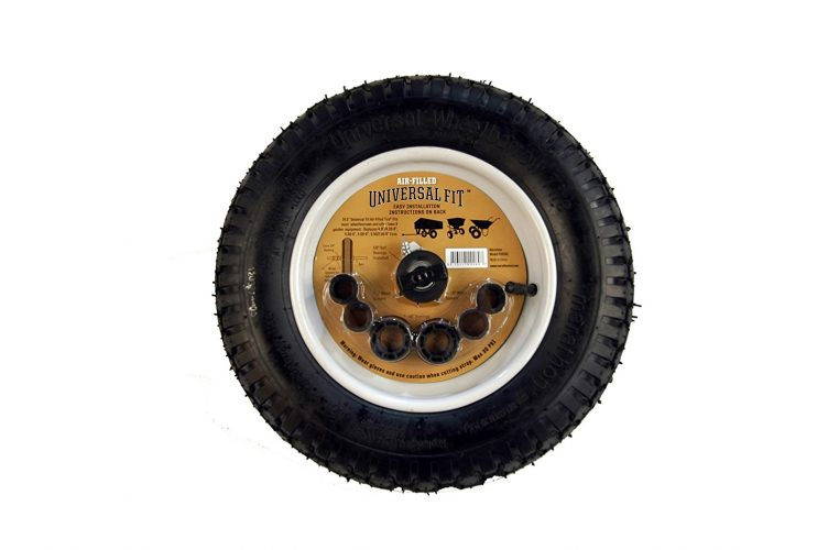 Marathon Universal 14.5-Inch Wheelbarrow Wheel - Wheelbarrow Wheels