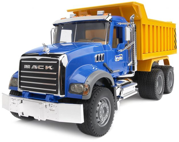 Bruder Mack Granite Dump Truck - toy trucks