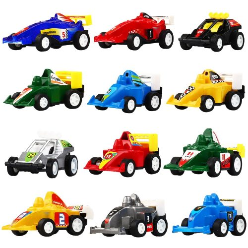Pull Back Vehicles, 12 Pack Assorted Construction Vehicles and Race Car Toy, Yeonha Toys Vehicles Truck Mini Car Toy for Kids Toddlers Boys