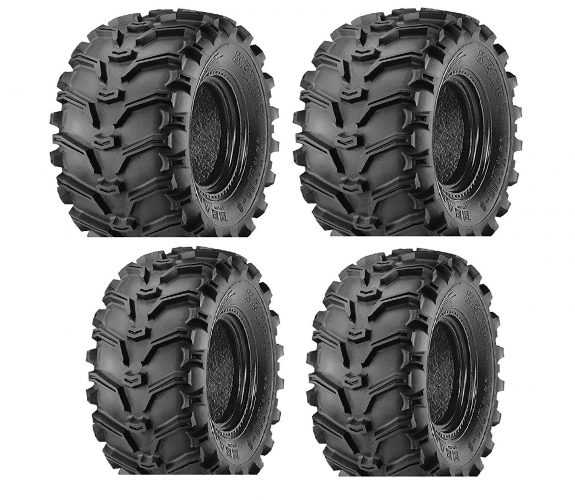 Kenda 2 FRONT 25-8-12 & 2 REAR 25-10-12 ATV Kenda Bearclaw TIRES