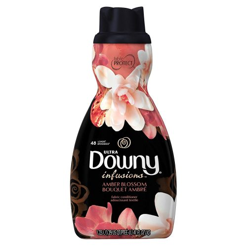 Ultra Downy Infusions Amber Blossom Liquid Fabric Softener and Conditioner 41 FL Oz