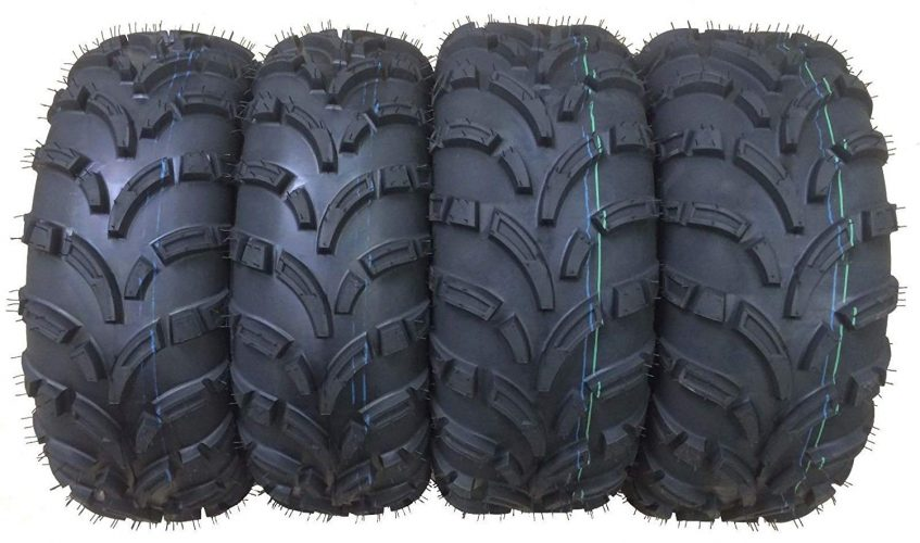 Set of 4 New WANDA ATV/UTV Tires 25x8-12 Front & 25x10-12 Rear /6PR P373 - 10243/10244