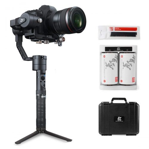 Zhiyun Crane Plus (Latest Crane V2 Upgrade 2018) | 3-Axis Gimbal Stabilizer for DSLR & Mirrorless Cameras with Motion Memory, POV, Night Time-Lapse, 5.5 lbs Payload, Object-Tracking, 1-Year Warranty