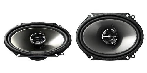 Pioneer 250 Watts 6 x 8 4 ohms 2-Way G-Series Coaxial Full Range Car Audio Stereo Speakers