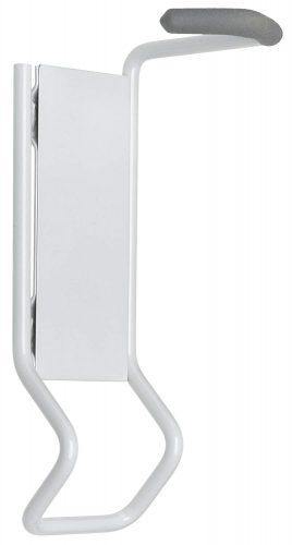 Racor B-1R Solo Vertical Bike Rack, White - bike wall mounts
