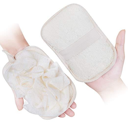 Bath Loofah Sponge Shower Clean Skin Gentle Sensitive Soft - Bath Sponges