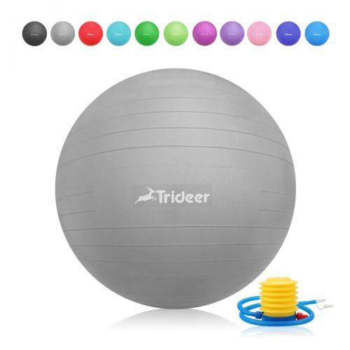 Trideer Exercise Ball (45-85cm) EXTRA THICK Yoga Ball Chair - Balance Ball Chairs