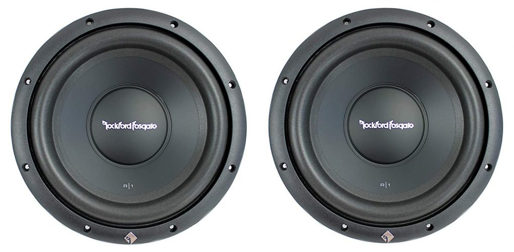 (2) Rockford Fosgate R1S4-10 Prime 10 Subwoofers Subs - Subwoofers