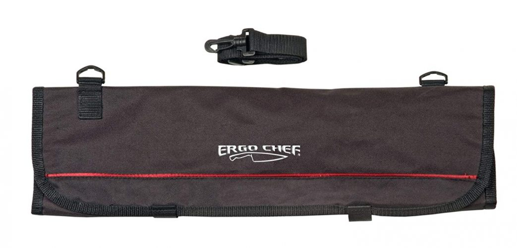 9 Pocket Professional Soft Knife Roll Bag by Ergo Chef