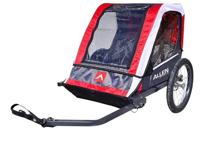 Allen Sports Deluxe Steel Child Trailer - bike trailers