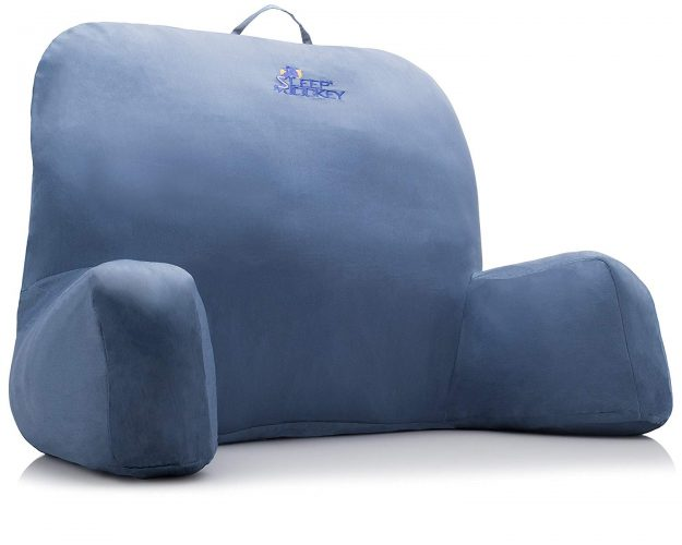 Bed Reading Pillow - Premium Therapeutic Grade Bed Rest - Rest Pillows