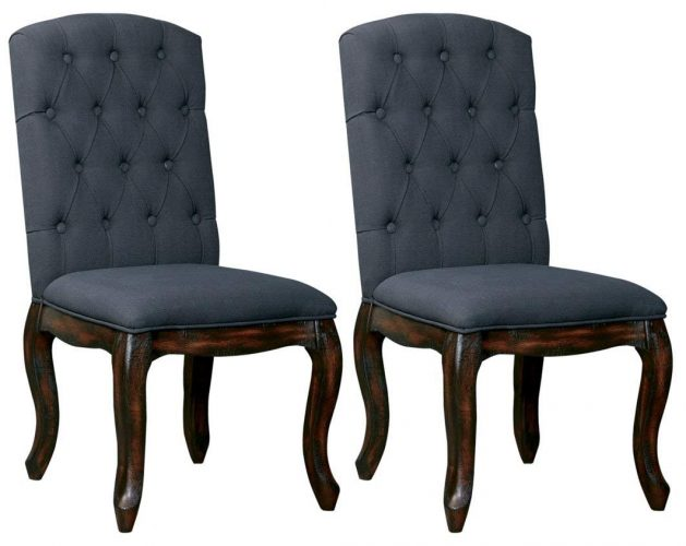 Ashley Furniture Signature Design - Trudell Dining Room Chair - Pine Wood - Set of 2 - Comfortable Dining Chair