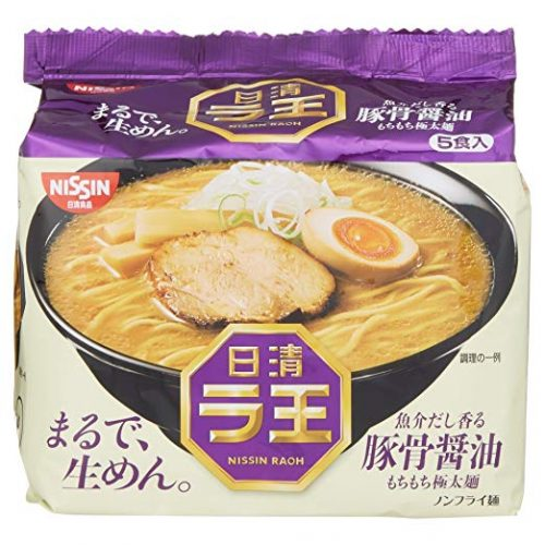 Nissin - Raoh Japanese Instant Ramen - Instant Ramen