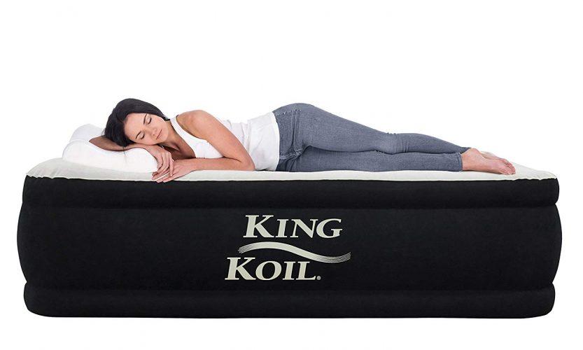 King Koil QUEEN SIZE Luxury Raised Air Mattress - Air Mattress