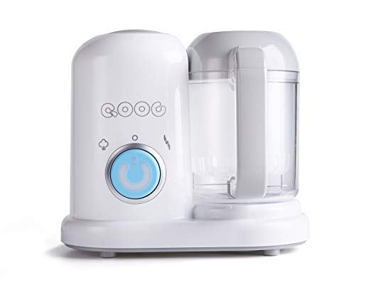 QOOC 4-in-1 Mini Baby Food Maker -