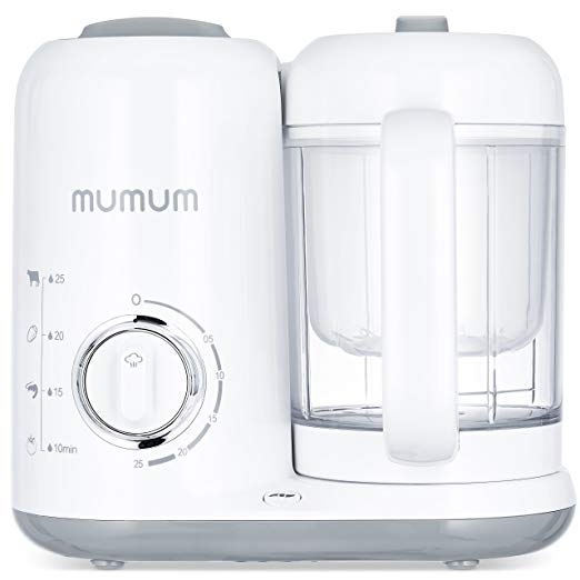 Mumum Baby 4-in-1 Baby Food Maker - Baby Food Makers