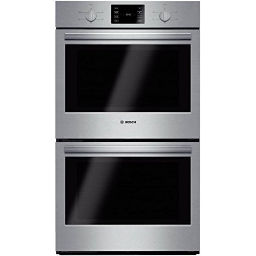 """Bosch HBL5551UC 500 30"""" Stainless Steel Electric Double Wall Oven - double wall ovens"""