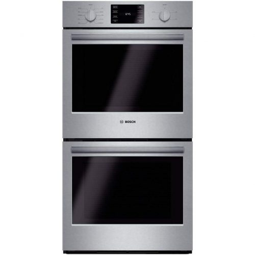 """Bosch HBN5651UC 500 27"""" Stainless Steel Electric Double Wall Oven - Convection - double wall ovens"""