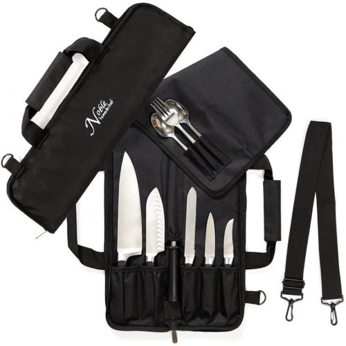 Chef Knife Roll Bag (6 slots) by Noble Home & Chef