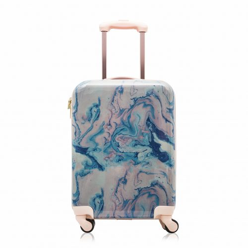 "Cosmopolitan Fashion 21"" Flight Legal Hardcase Carry-on Suitcase - hard case suitcases"